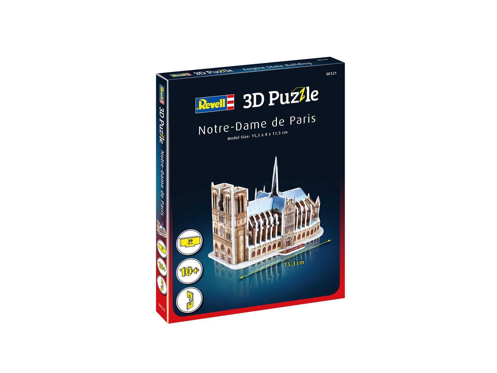 3D Puzzle Revell – Notre-Dame de Paris