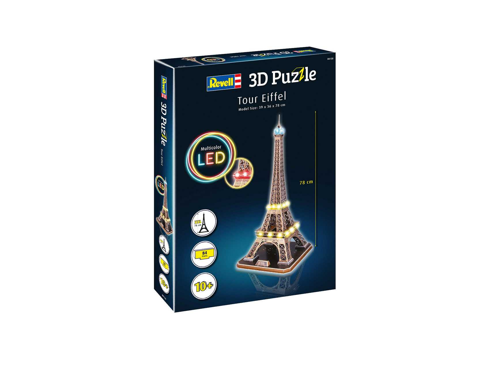 3D Puzzle Revell – Tour Eiffel (LED Edition)
