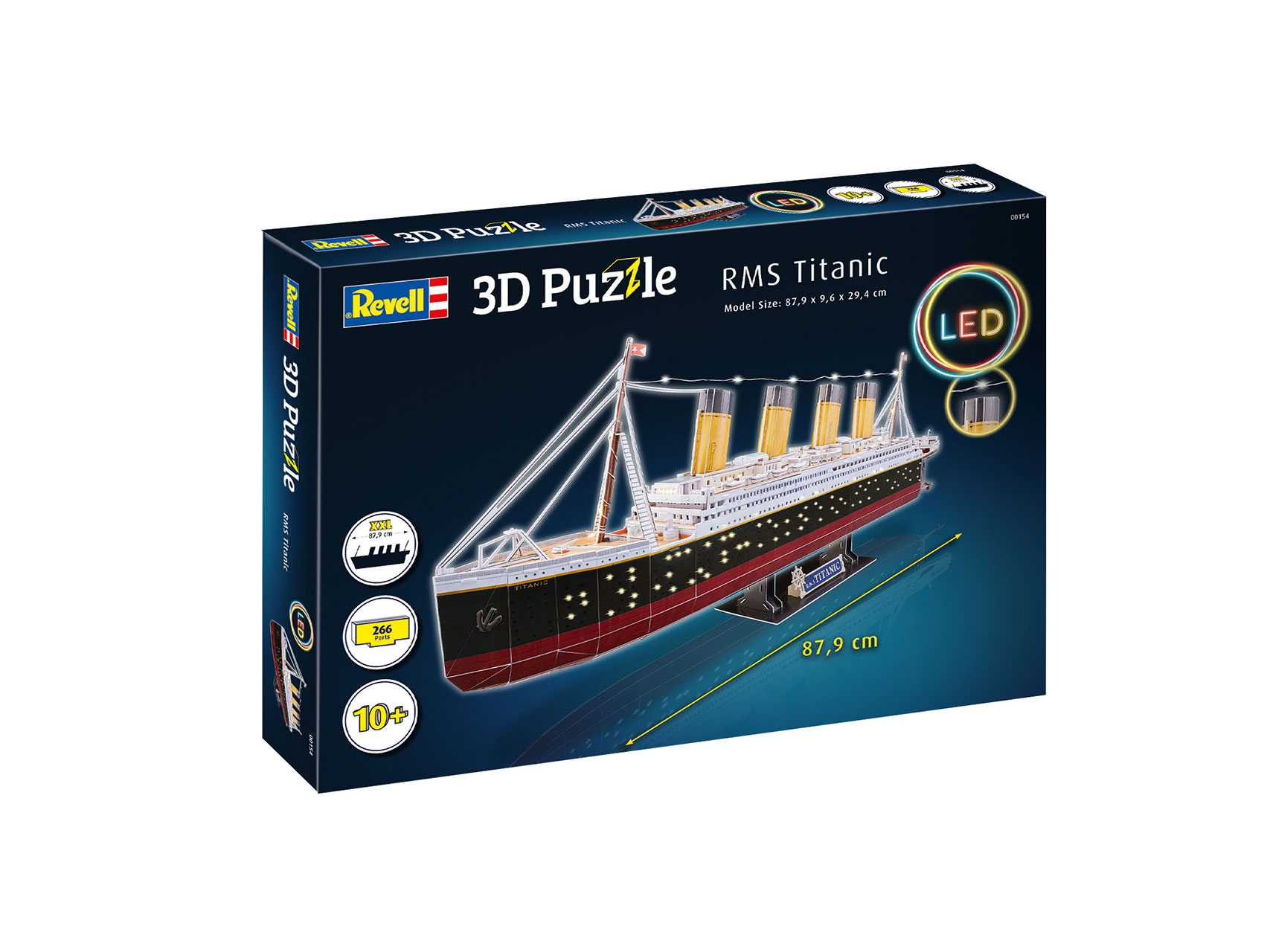 3D Puzzle Revell – RMS Titanic (LED Edition)