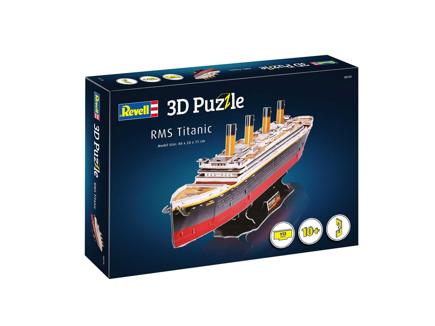 3D Puzzle Revell – Titanic