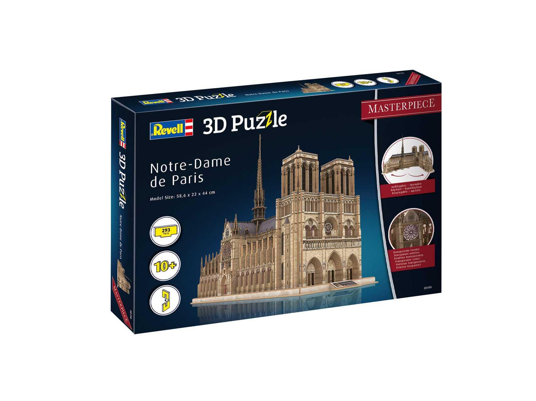 3D Puzzle Revell – Notre Dame de Paris