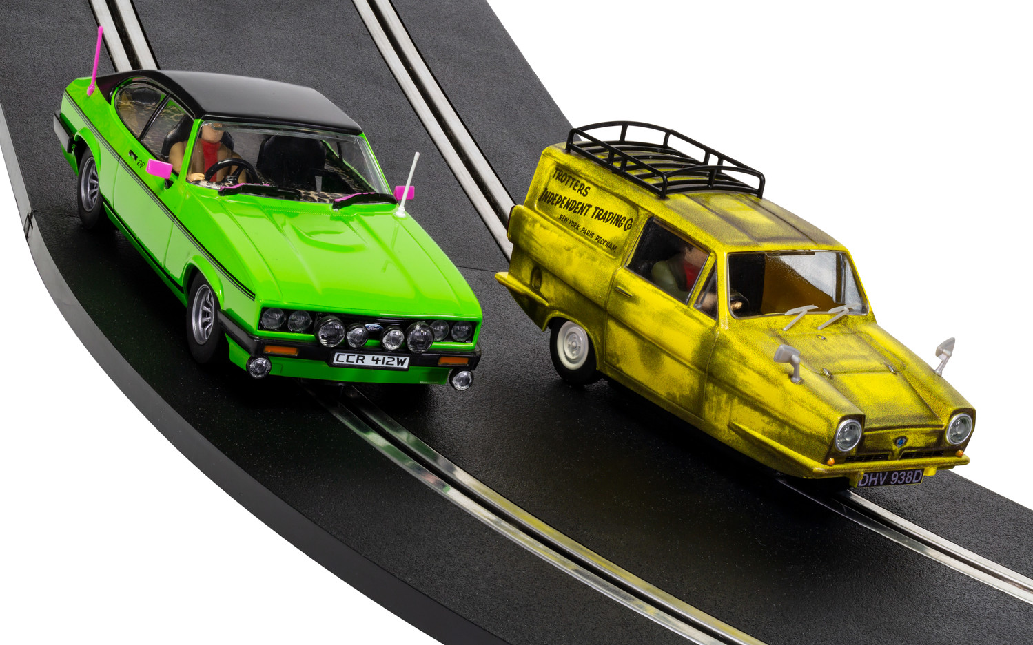 1/32 Autíčko Film & TV SCALEXTRIC C4179A - Only Fools And Horses Twin Pack