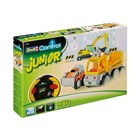 Aut��ko REVELL 23003 JUNIOR - Tow Loader with excavator - 40 MHz