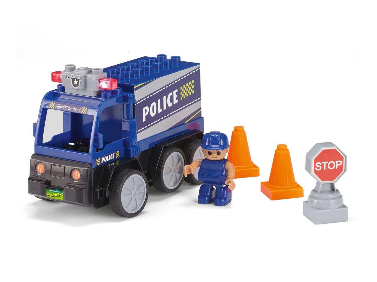 Autíčko Revell Police Car 40MHz (stavebnice)