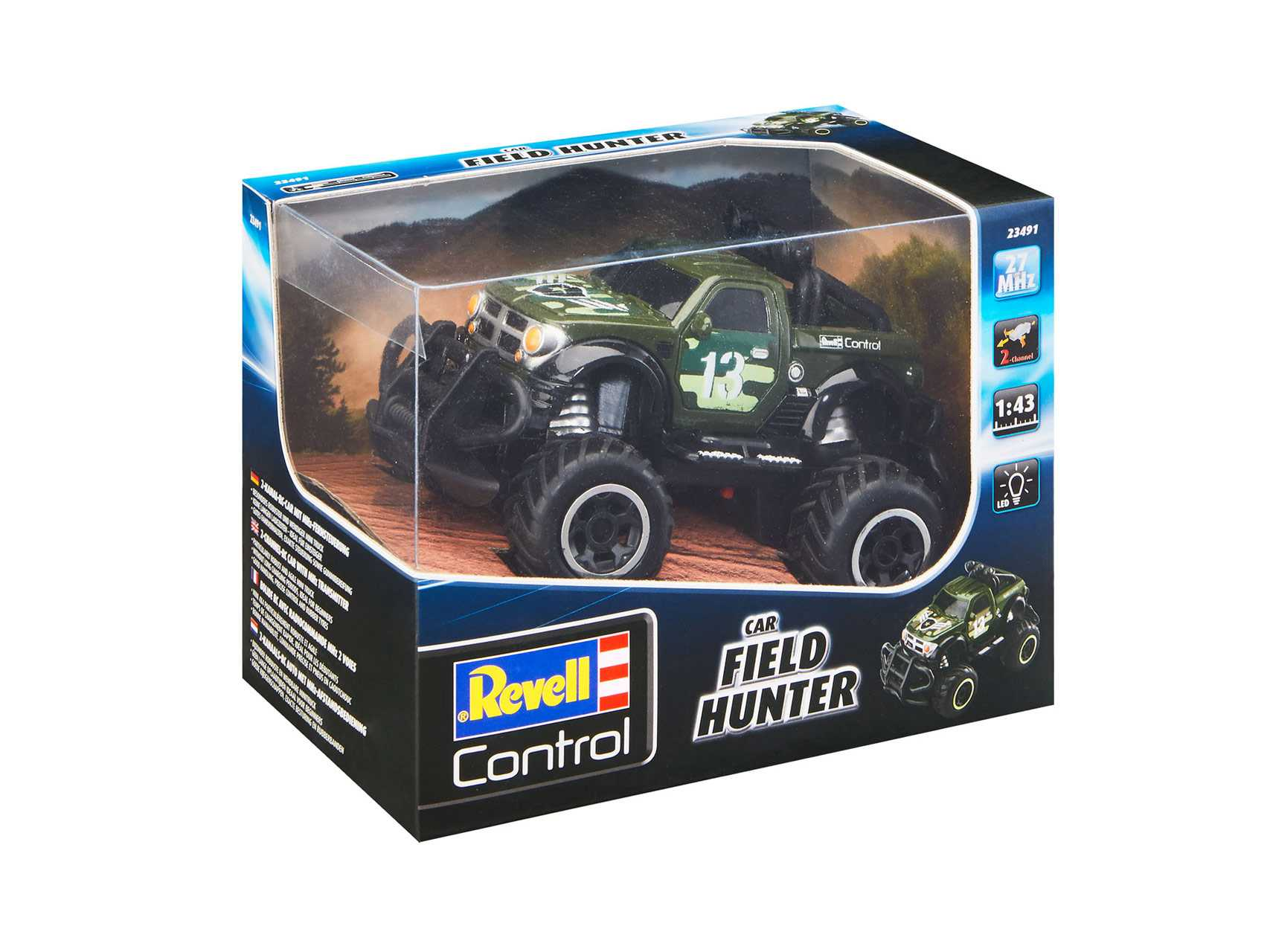 Autíčko Revell Field Hunter 27MHz