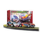 Autodráha MICRO SCALEXTRIC G1149P - Law Enforcer Mains Powered Race Set (1:64)