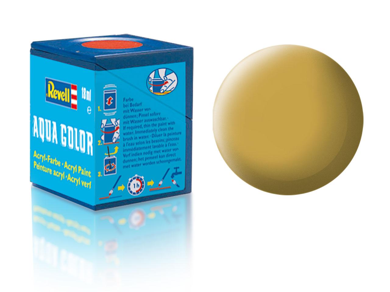 Barva Revell akrylová č. 16 – matná pískově žlutá (18 ml)