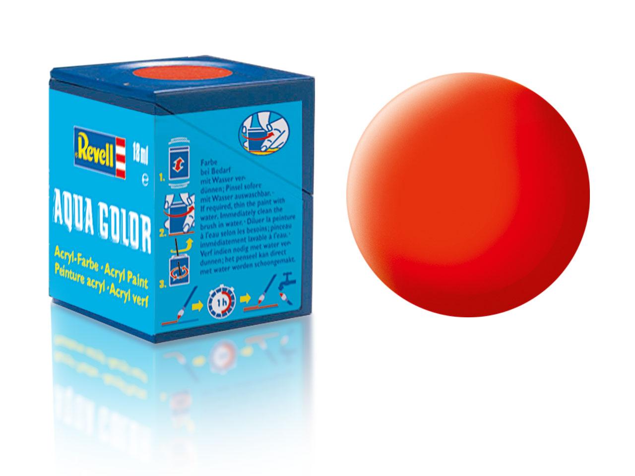 Barva Revell akrylová č. 25 – matná světle oranžová (18 ml)