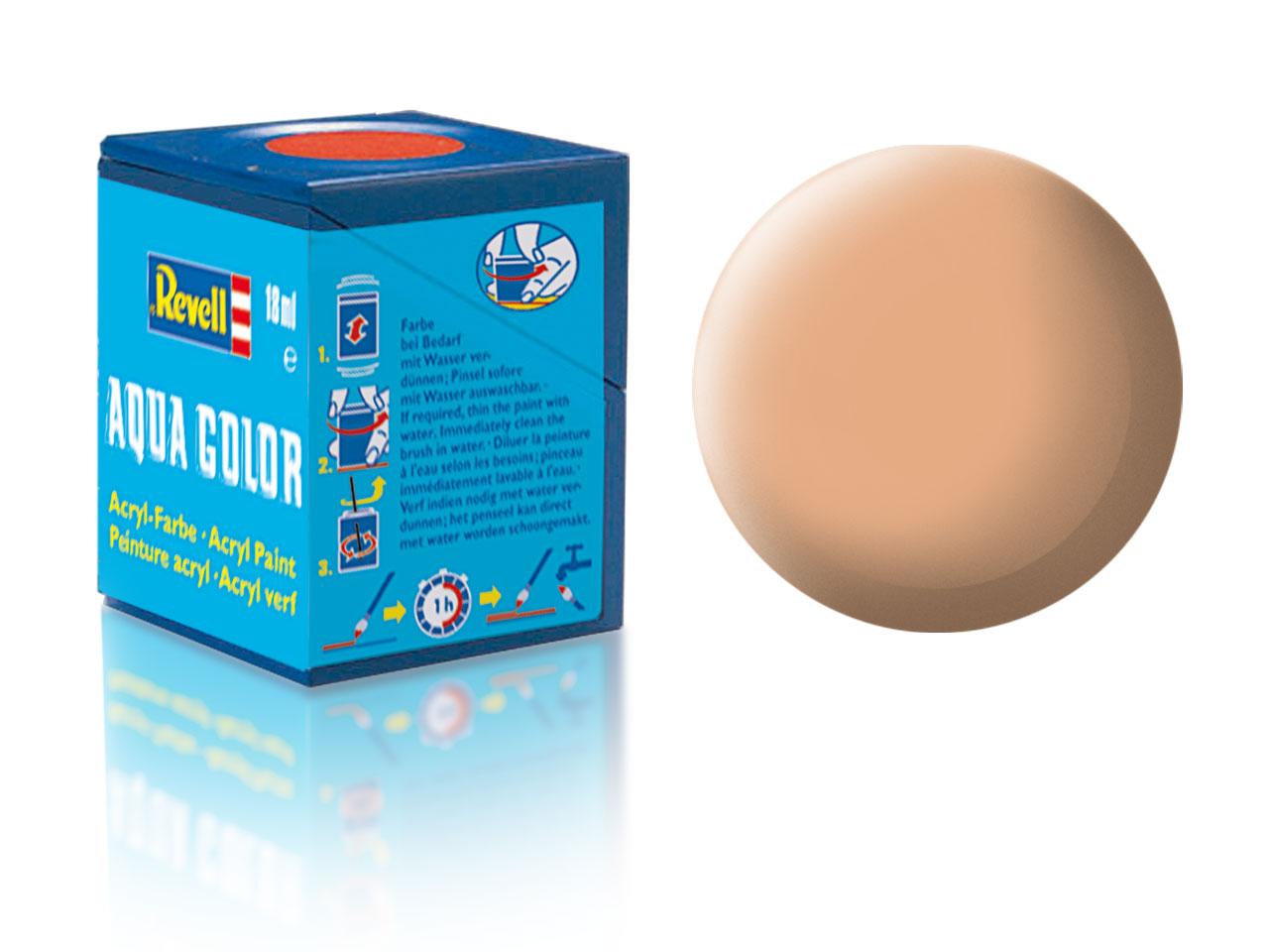 Barva Revell akrylová č. 35 – matná tělová (18 ml)