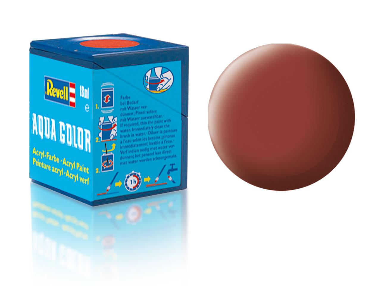 Barva Revell akrylová č. 37 – matná rudohnědá (18 ml)