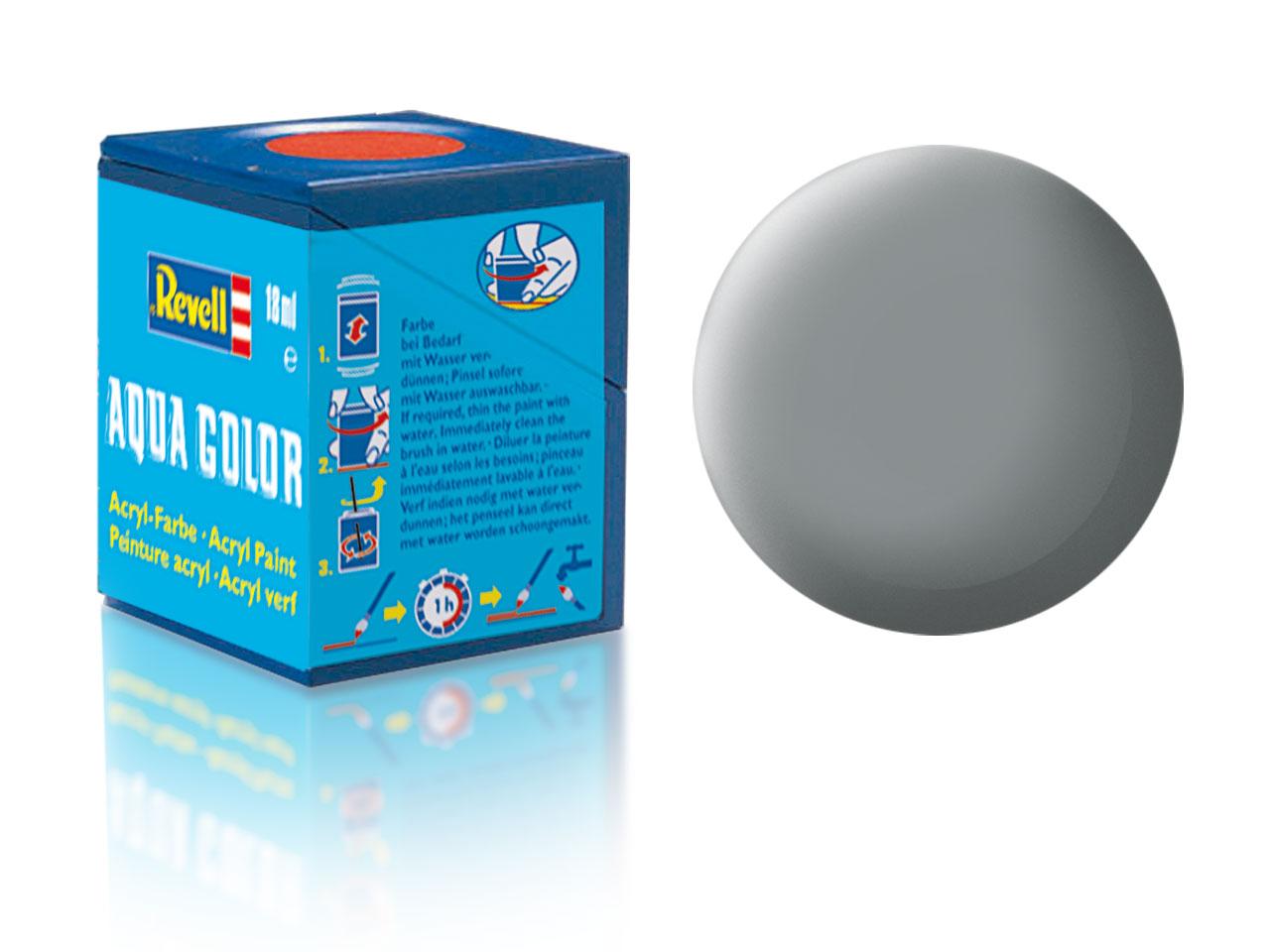Farba Revell akrylová č. 43 – matná šedá (18 ml)
