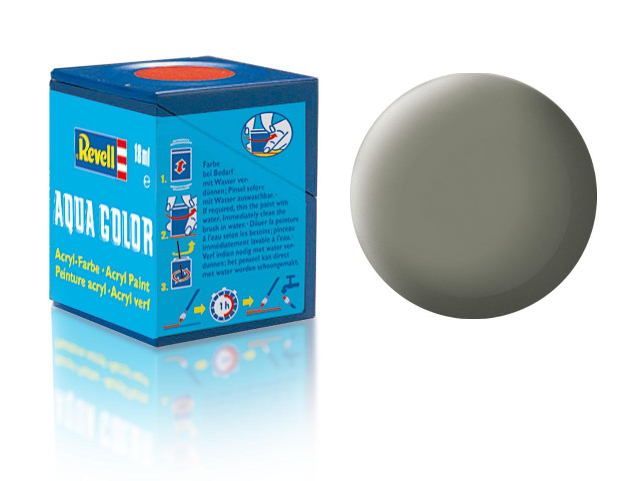 Barva Revell akrylová č. 45 – matná světle olivová (18 ml)