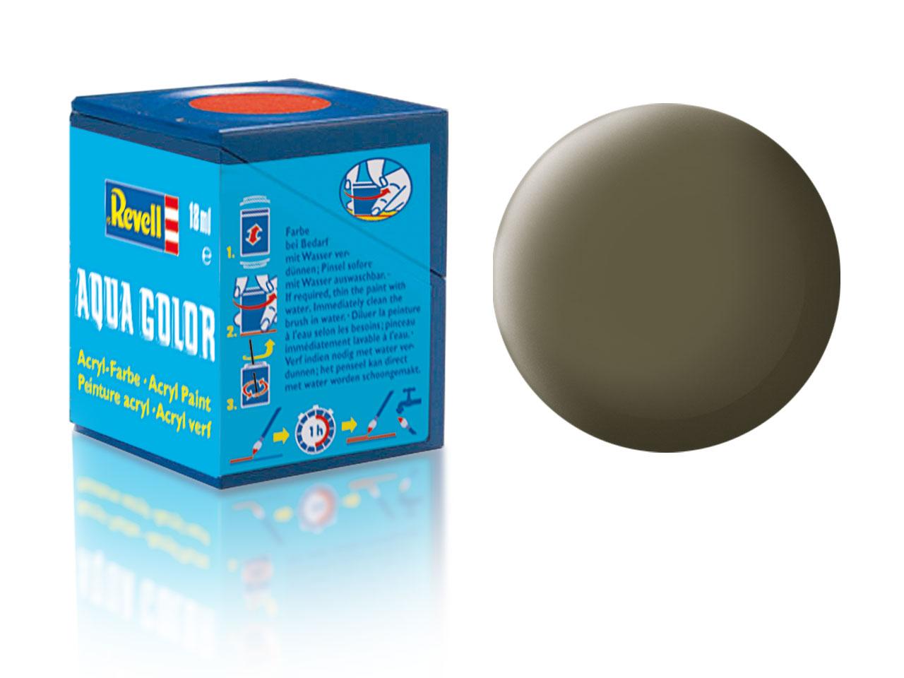 Barva Revell akrylová č. 46 – matná olivová NATO (18 ml)