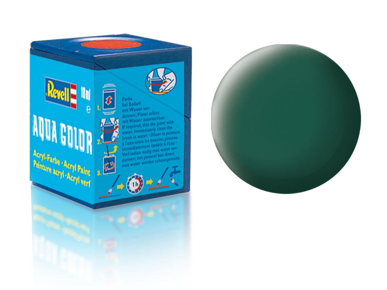 Barva Revell akrylová č. 48 – matná mořská zelená (18 ml)