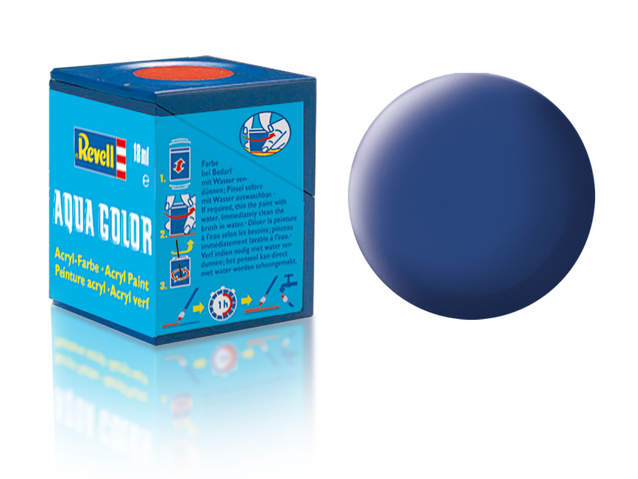 Barva Revell akrylová č. 56 – matná modrá (18 ml)