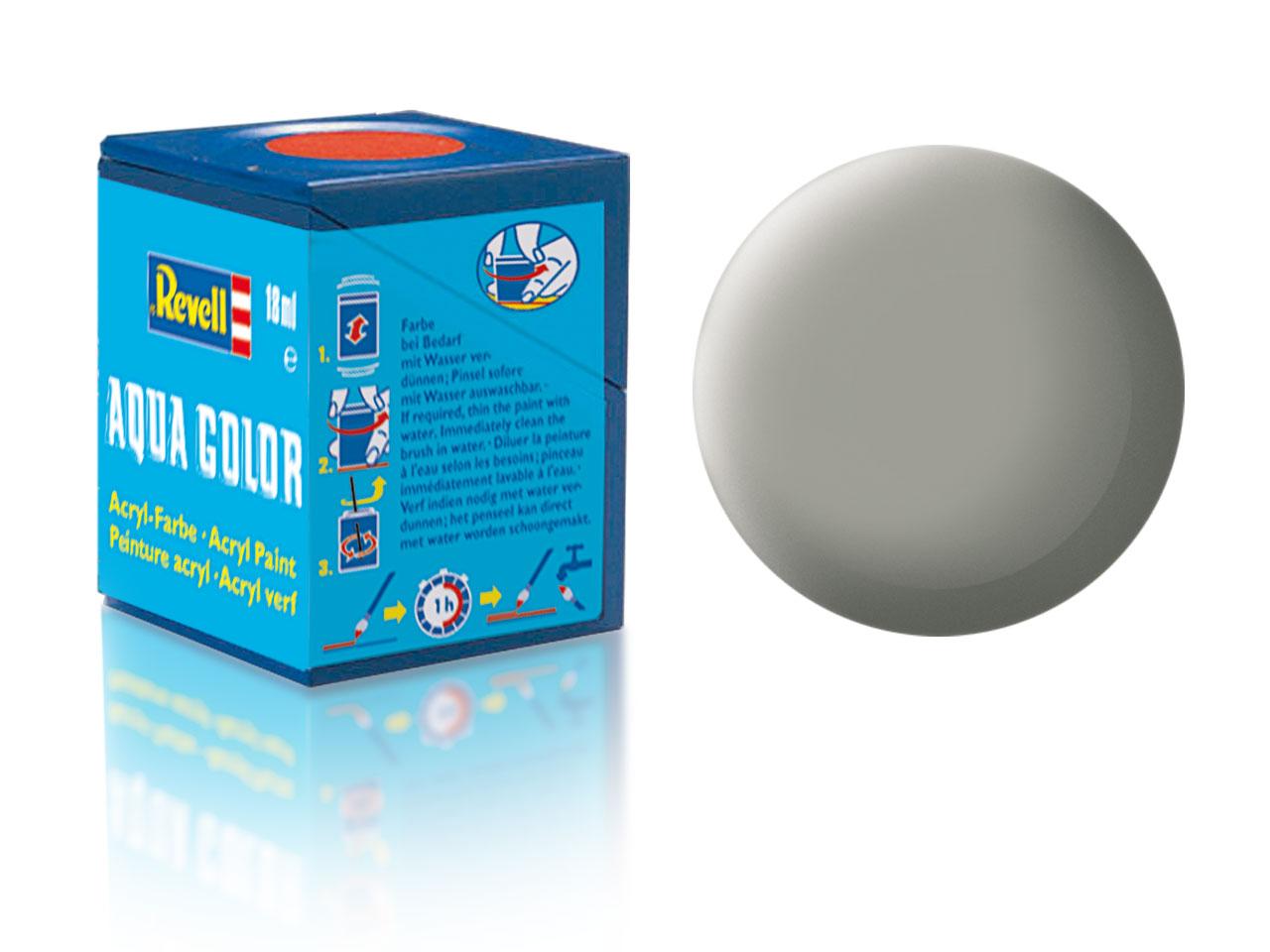 Farba Revell akrylová č. 75 – matná kamenná šedá (18 ml)