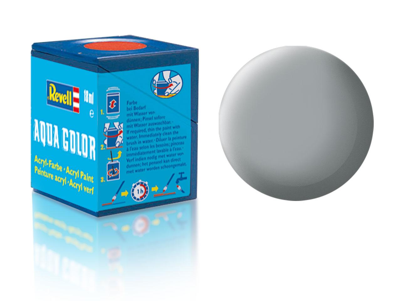 Náhled produktu - Barva Revell akrylová č. 76 – matná světle šedá USAF (18 ml)