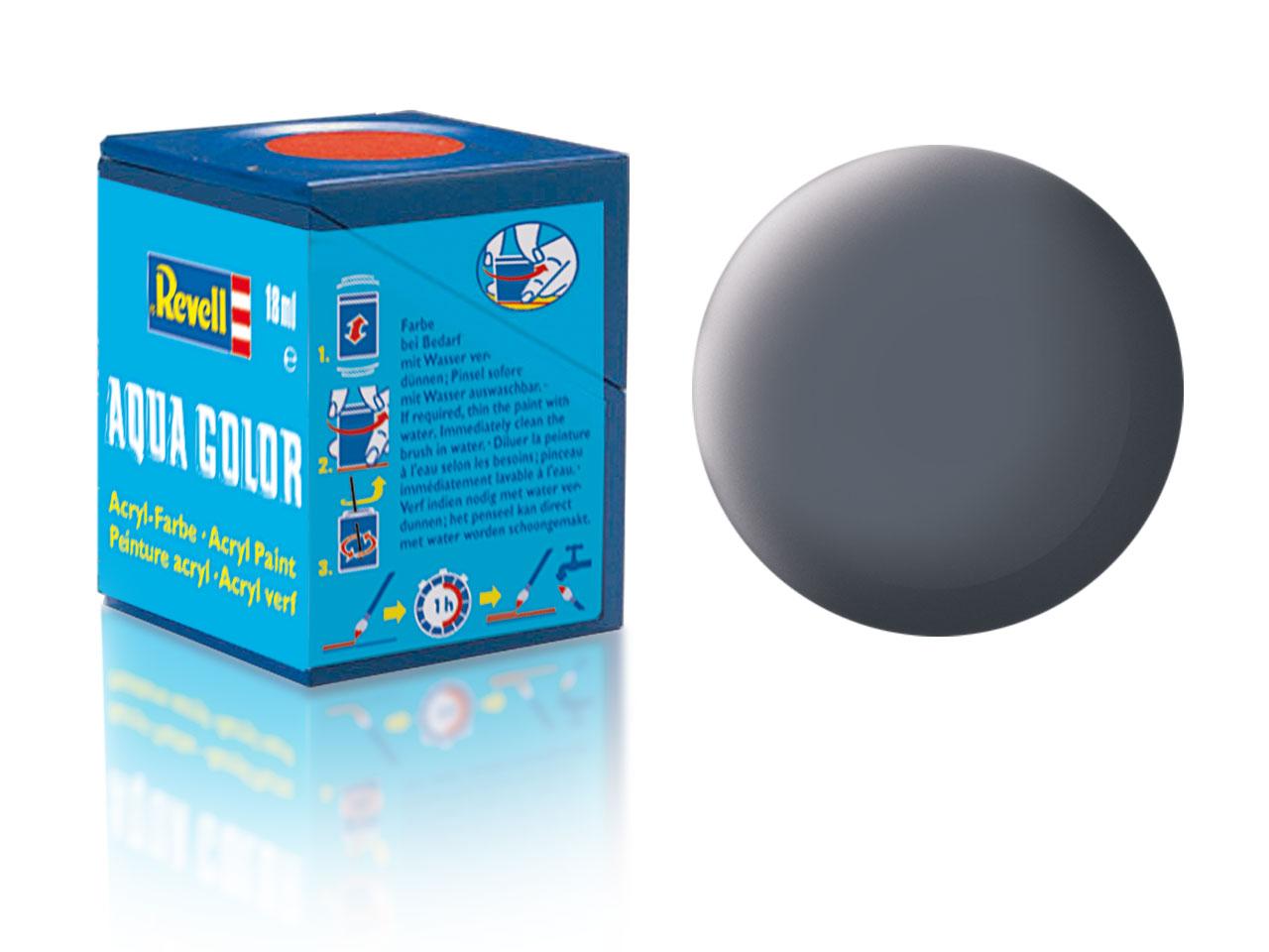 Barva Revell akrylová č. 77 – matná prachově šedá (18 ml)