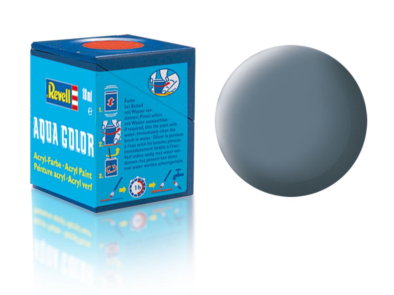 Barva Revell akrylová č. 79 – matná šedavě modrá (18 ml)