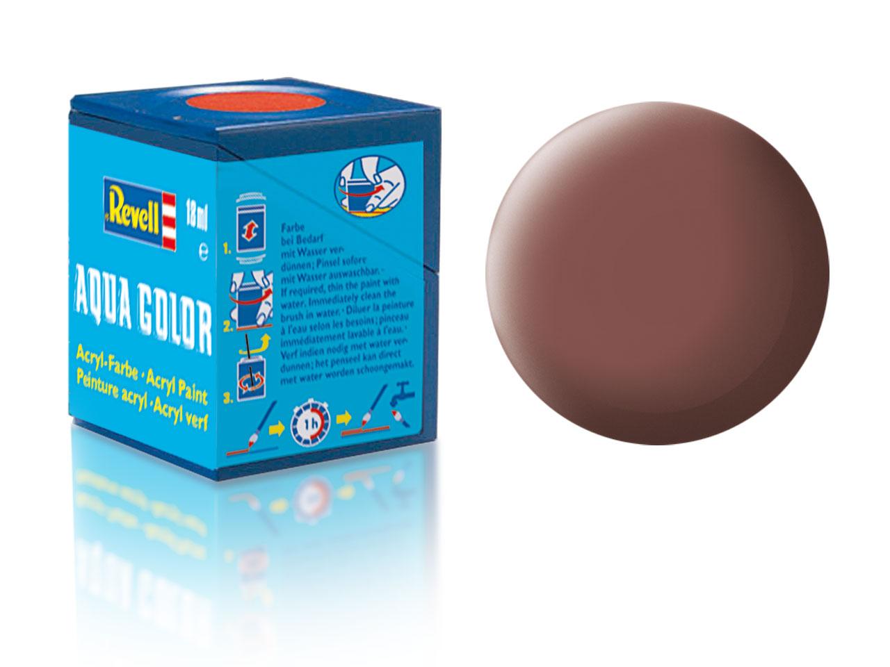 Barva Revell akrylová č. 83 – matná rezavá (18 ml)