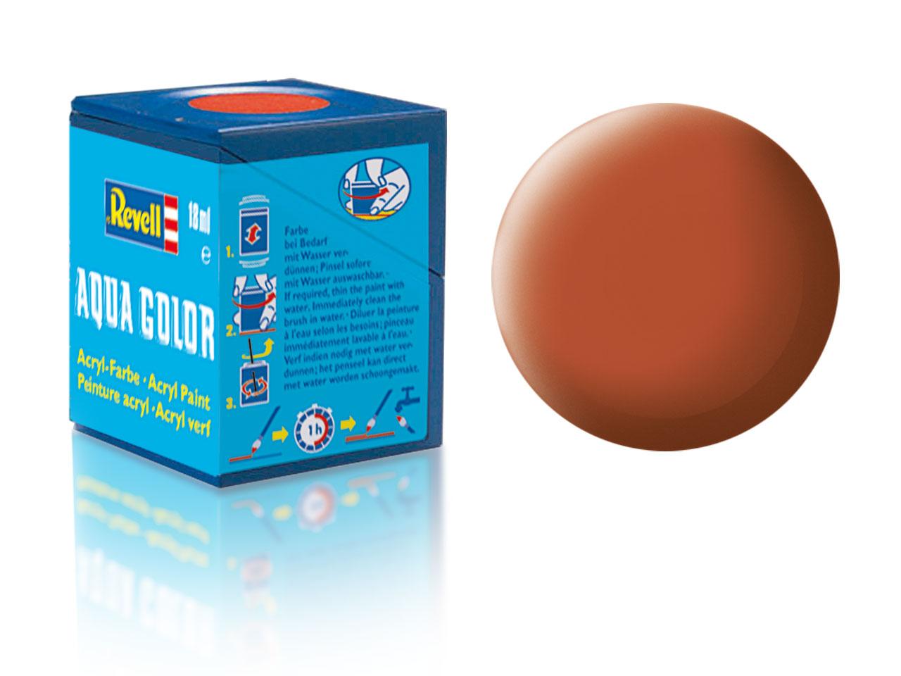 Barva Revell akrylová č. 85 – matná hnědá (18 ml)