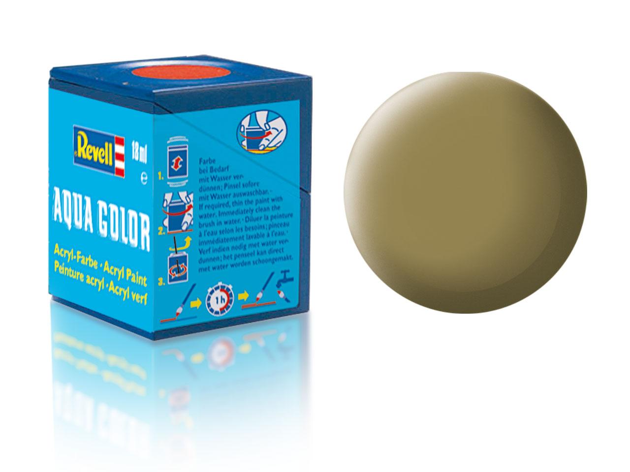 Barva Revell akrylová č. 86 – matná olivově hnědá (18 ml)