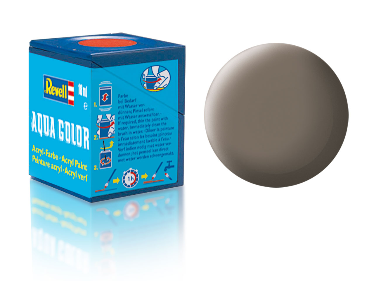 Barva Revell akrylová č. 87 – matná zemitě hnědá (18 ml)