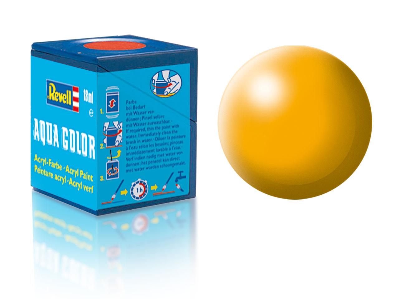 Barva Revell akrylová č. 310 – hedvábná žlutá (18 ml)