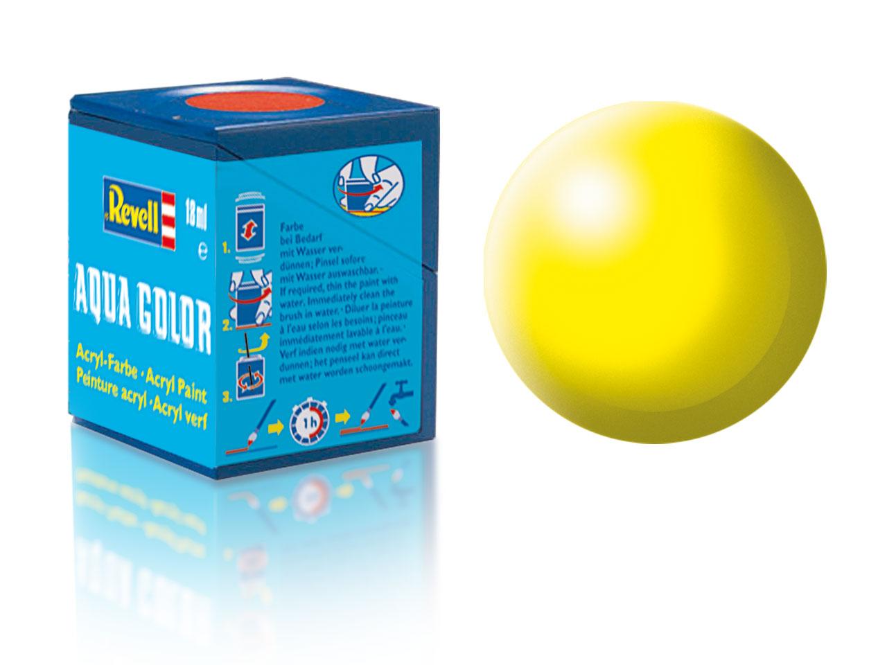 Barva Revell akrylová č. 312 – hedvábná světle žlutá (18 ml)