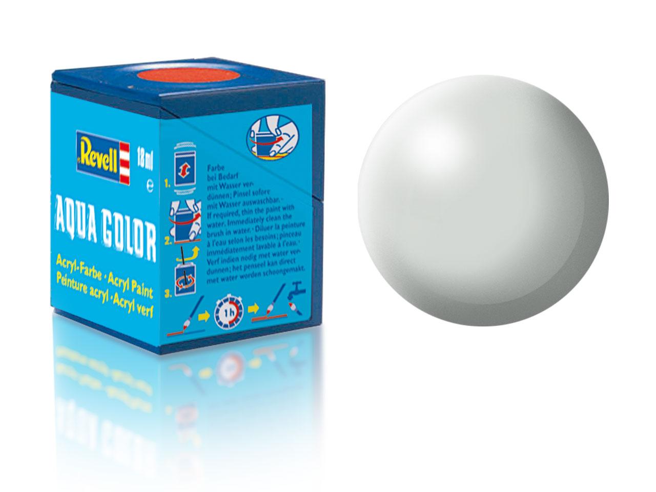 Barva Revell akrylová č. 371 – hedvábná světle šedá (18 ml)