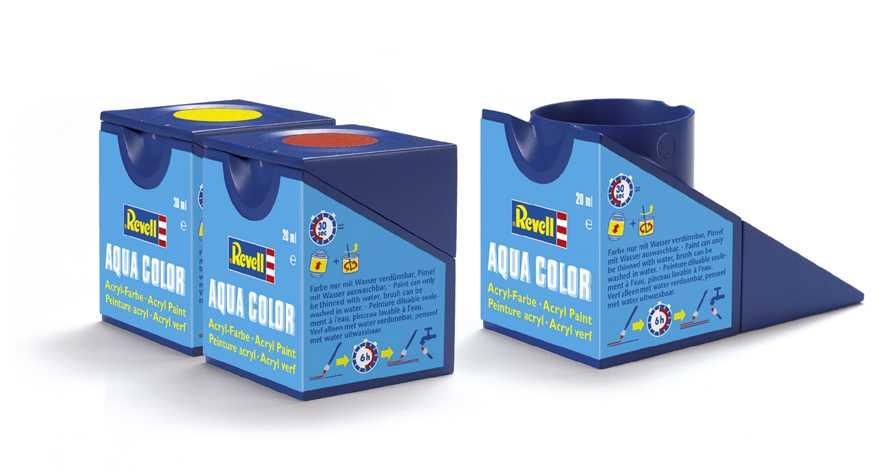 Náhled produktu - Barva Revell akrylová č. 731 – transparentní červená (18 ml)