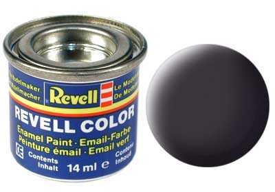 Barva Revell emailová č. 06 – matná dehtově černá (14 ml)