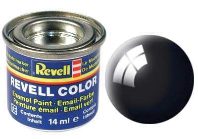 Barva Revell emailová č. 07 – lesklá černá (14 ml)