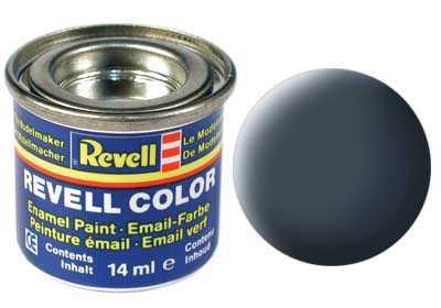 Barva Revell emailová č. 09 – matná antracitová šedá (14 ml)