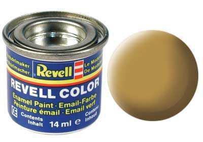 Barva Revell emailová č. 16 – matná pískově žlutá (14 ml)