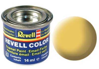 Barva Revell emailová č. 17 – matná africká hnědá (14 ml)