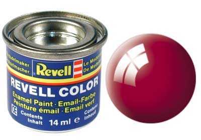 Barva Revell emailová č. 34 – lesklá Ferrari červená (14 ml)