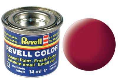 Farba Revell emailová č. 36 – matná karmínová (14 ml)