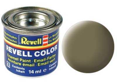 Barva Revell emailová č. 39 – matná tmavě zelená (14 ml)
