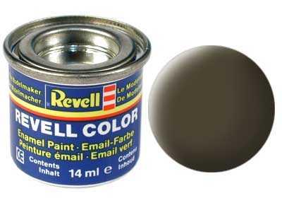 Barva Revell emailová č. 40 – matná černozelená (14 ml)