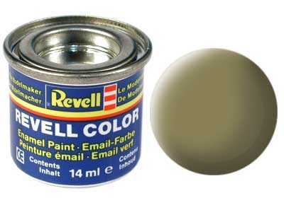 Farba Revell emailová č. 42 – matná olivovo žltá (14 ml)