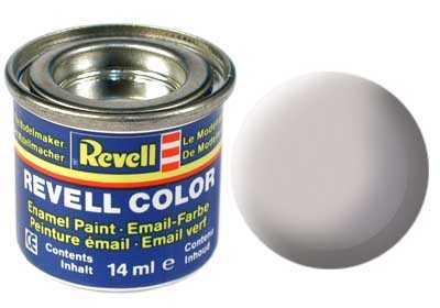 Barva Revell emailová č. 43 – matná šedá USAF (14 ml)