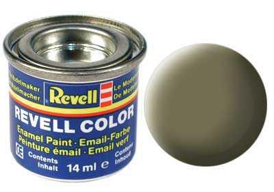 Barva Revell emailová č. 45 – matná světle olivová (14 ml)
