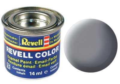 Barva Revell emailová č. 47 – matná myší šedá (14 ml)