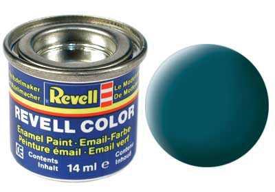 Barva Revell emailová č. 48 – matná mořská zelená (14 ml)
