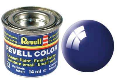Farba Revell emailová č. 51 – lesklá marine modrá (14 ml)