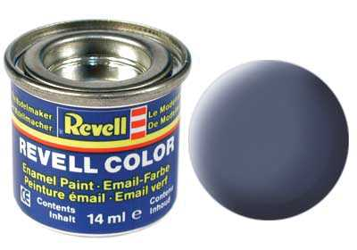 Barva Revell emailová č. 57 – matná šedá (14 ml)