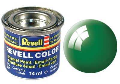 Barva Revell emailová č. 61 – lesklá smaragdově zelená (14 ml)