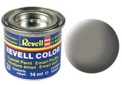 Barva Revell emailová č. 75 – matná kamenně šedá (14 ml)