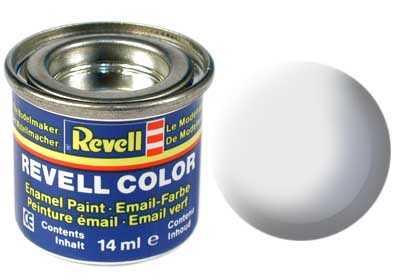 Barva Revell emailová č. 76 – matná světle šedá USAF (14 ml)